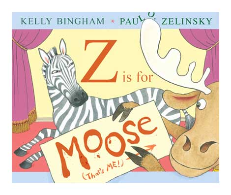 Z is for Moose jacket Z Is For Moose Book Trailer